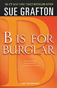Paperback B Is for Burglar Book