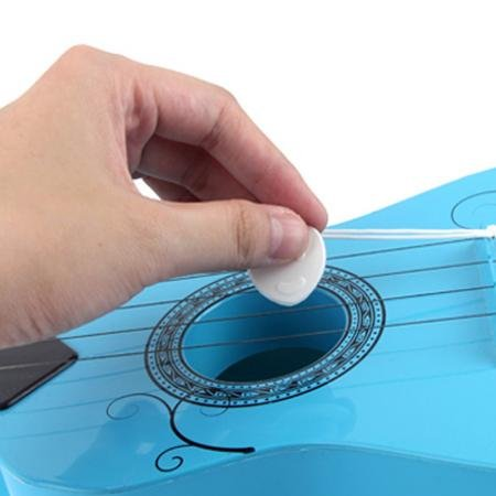 E Support™ Child's Acoustic Guitar Beginner's Musical Instrument Kid 6 String Pink Mini Guitar