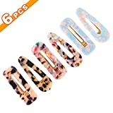 ASFOS Acrylic Resin Hair Barrettes