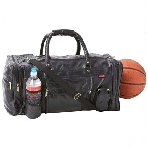 Embassy Italian Stone Design Genuine Leather 22-1/2'' Gym Bag