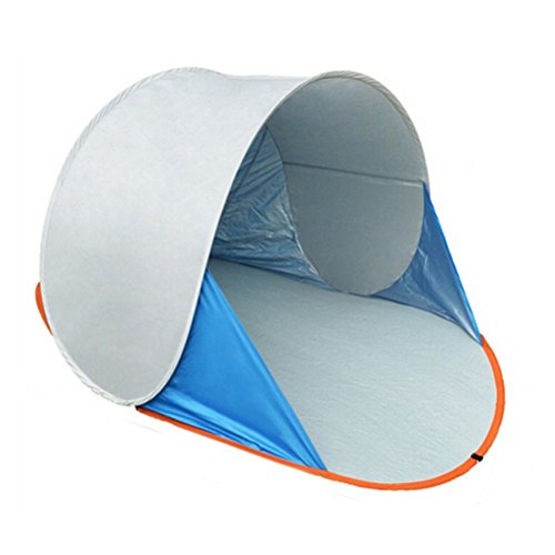 2 people Portable Automatic Pop Up Beach Tent UV Sun Shade - Code Discount Car Shades