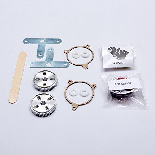 C5 Headlight Gear (Corvette C5 Firebird Headlight Motor Repair Kit Aluminum)