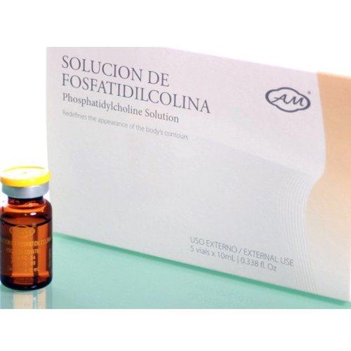Armesso Mésothérapie Sans Aiguille - phosphatidylcholine avec désoxycholate de sodium, flacons 5x10ml - Sérum Mesoterapia Fosfatidilcolina