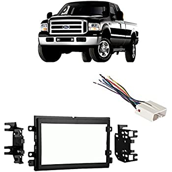 2005 ford f 250 dash wiring harness amazon.com: fits ford f-250/350/450/550 2005-2007 double ...