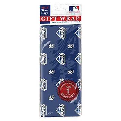 MLB San Diego Padres Wrapping Paper