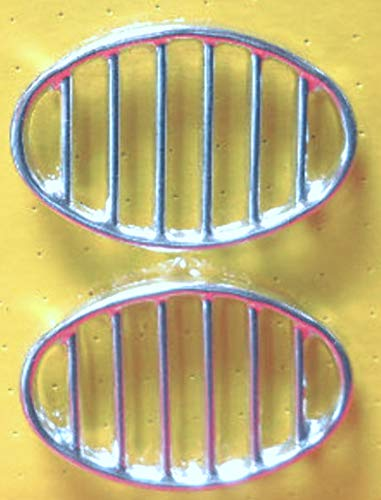 Air Cooled Beetle Horn Grill Stock Pair German,52-67 113-853-641A