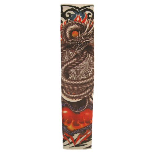 Tattoo Sleeve (Dragon of Fire) ~ Party & Halloween Accessory