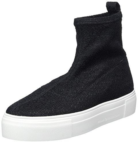 Collo Kennel A black Schmenger Donna Und Sohle Alto Weiß Sneaker Schuhmanufaktur Schwarz Big rXYrqwU