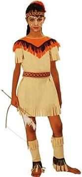 Aptafêtes – cu290243/128 – Disfraz de Indio de América de la Tribu ...