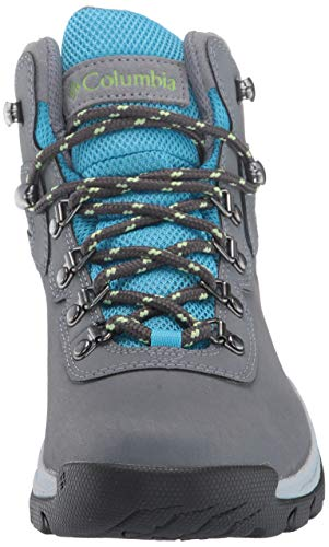 Columbia Women's Newton Ridge Plus Hiking Boot, Grey Ash/Riptide, 6 Regular US by Columbia (Image #4)