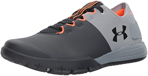 Under Armour Men's Charged Ultimate 2.0 Sneaker, Steel (036)/Anthracite, 10.5