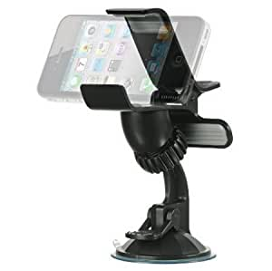 Cerhinu Importer520 Clipper Car Mount Universal Vehicle Swivel Holder For Samsung Flight II 2 A927 (AT&T) - Clipper