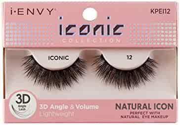 41241c13dde i Envy by Kiss iconic 3D Angle & Volume Lashes NATURAL ICON 12