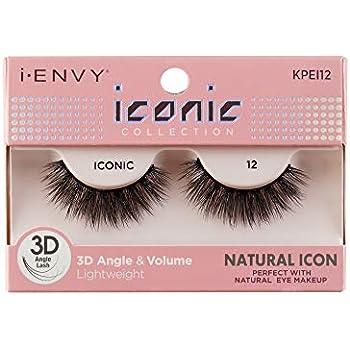 7e872302d6c Amazon.com : i Envy by Kiss iconic 3D Angle & Volume Lashes NATURAL ...