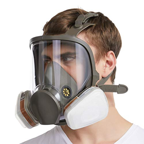 FIRMERS Gas Masks Chemical Biological, Full Seal Protection Rubber Respirator Eye Protection Respiratory Widely Used in…