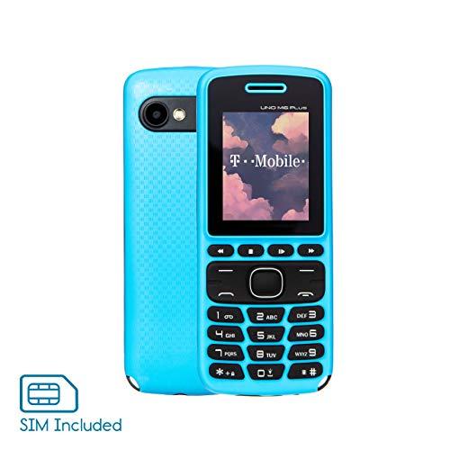 🥇 Unlocked 2G GSM Cell Phone – UNO M6 – Celular Desbloqueado – Dual SIM – Plus 1 Month of Unlimited Talk & Text & 1 GB of Data | Mobile SIM