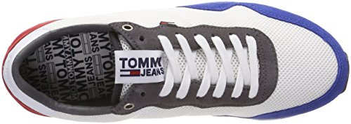 Zapatillas Rwb 020 Hombre Tommy Lifestyle Sneaker Jeans para Blanco qwTStzU