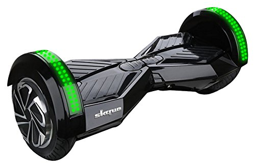 Skque UL2272 Self Balancing Hoverboard with 8-Inch Smart Two Wheel and LED...