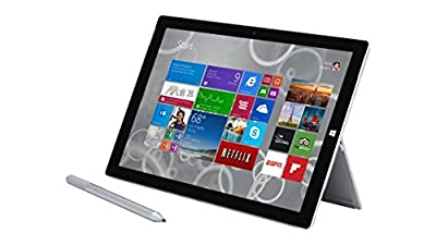 Microsoft Surface Pro 3 (128 GB, Intel i5) (Certified Refurbished), with Keyboard / Pen