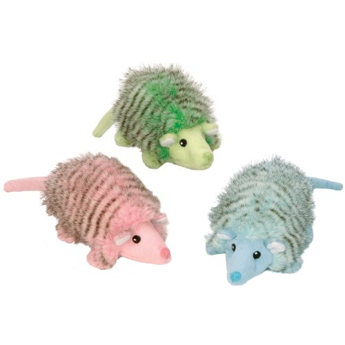 GoDog Mr Armie Pastels Dog Toy with Chew Guard, Colors Vary, My Pet Supplies