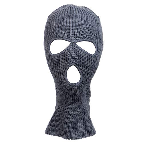 Knitted 3-Hole Full Face Cover Ski -