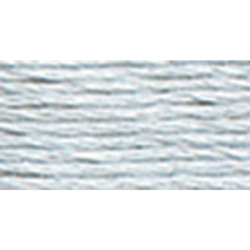 DMC 117-3753 Mouline Stranded Cotton Six Strand Embroidery Floss Thread, Very Light Antique Blue, ()