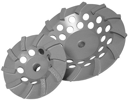 Diamond Products Core Cut 22474 7-Inch by 5//8-Inch 11 Delux Cut Spiral Turbo Cup Grinder with 12 Segments Builders World Wholesale Distribution