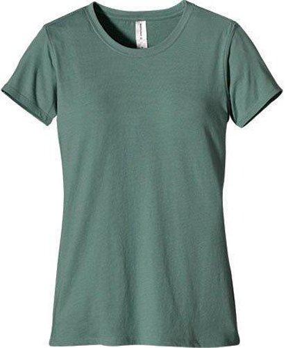 econscious Women's Classic Washed Short Sleeve Tee, Blue Sage, X-Large