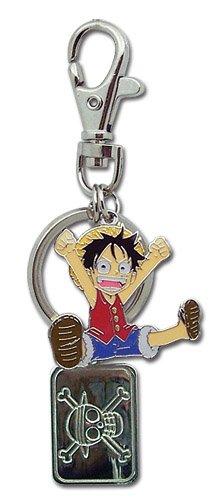 Gran entretenimiento oriental una pieza Luffy llavero de ...