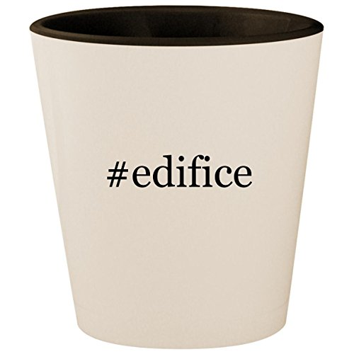 #edifice - Hashtag White Outer & Black Inner Ceramic 1.5oz Shot Glass