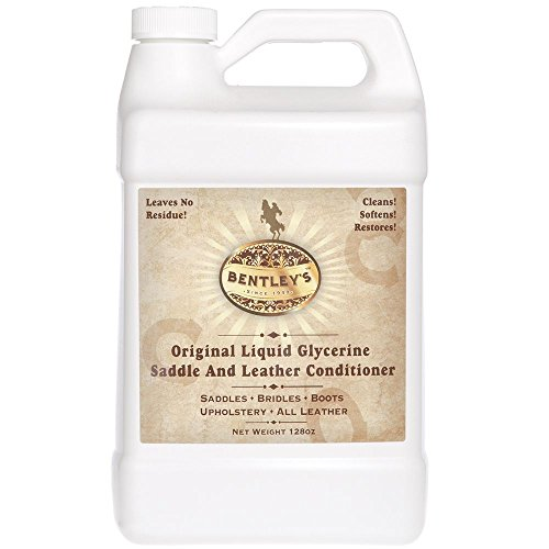 Forever Car Care Products Bentley Liquid Glycerine Saddle & Leather Conditioner Soap - 128 oz (one Gallon)