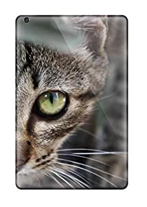 New Style TashaEliseSawyer Scratch-free Phone Case For Ipad Mini 3- Retail Packaging - Cat On A Rock 1627394K36471701