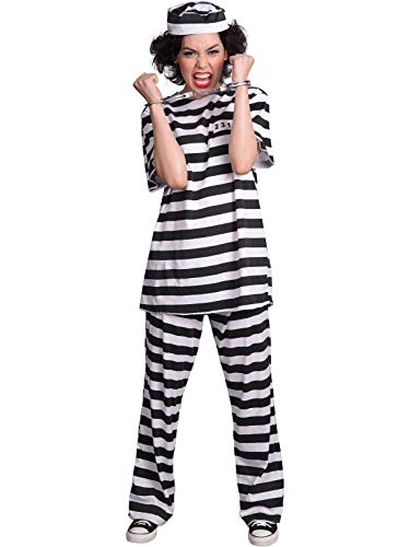 Female Prisoner Adult Costume ()