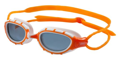 ZOGGS Predator Polarized goggles Orange/White/Smoke S/M