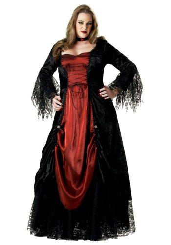 InCharacter Gothic Vampiress Costume - Plus Size 3X - Dress Size (Couple Horror Costumes)