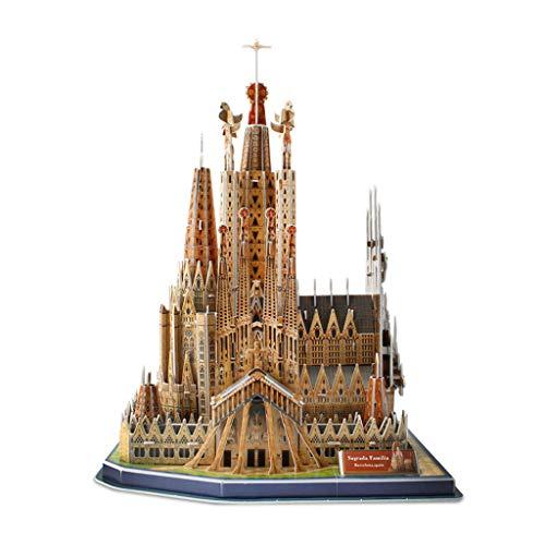 LUGEUK Sagrada Familia Puzzle Model 3D Model Kits