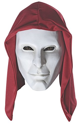 Party City Costumes For Guys (Rubie's Costume Men's Arkham City Adult Deluxe Overhead Latex Anarky Mask, Multi, One Size)