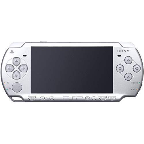 New Sony Playstation Portable PSP 3000 Series Handheld Gaming Console System (Renewed) (Mystic Silver)