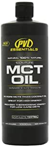 PVL Essentials 100 Percent Pure MCT Oil 1 Litre