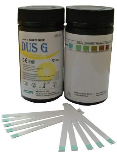 100 Teststreifen zur Bestimmung von Glukose im Urin