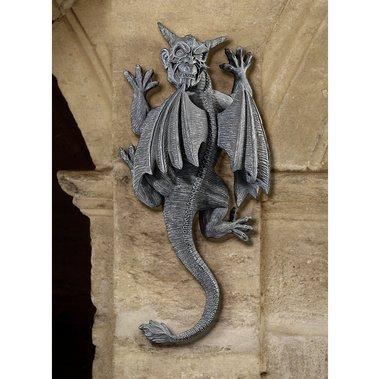Garlin The hanging Gargoyle statue home garden wall sculpture(the digital angel) - Gargoyle Hanging