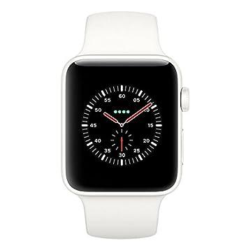 Apple Montre Connectée 42 mm Céramique Blanche