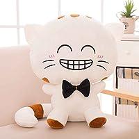 Bobury Cat Plush Emoji Cushion Pillow PP Cotton Filling Home Decor Doll Smiling Face Cartoon Stuffed Toys Gifts 22cm/50cm
