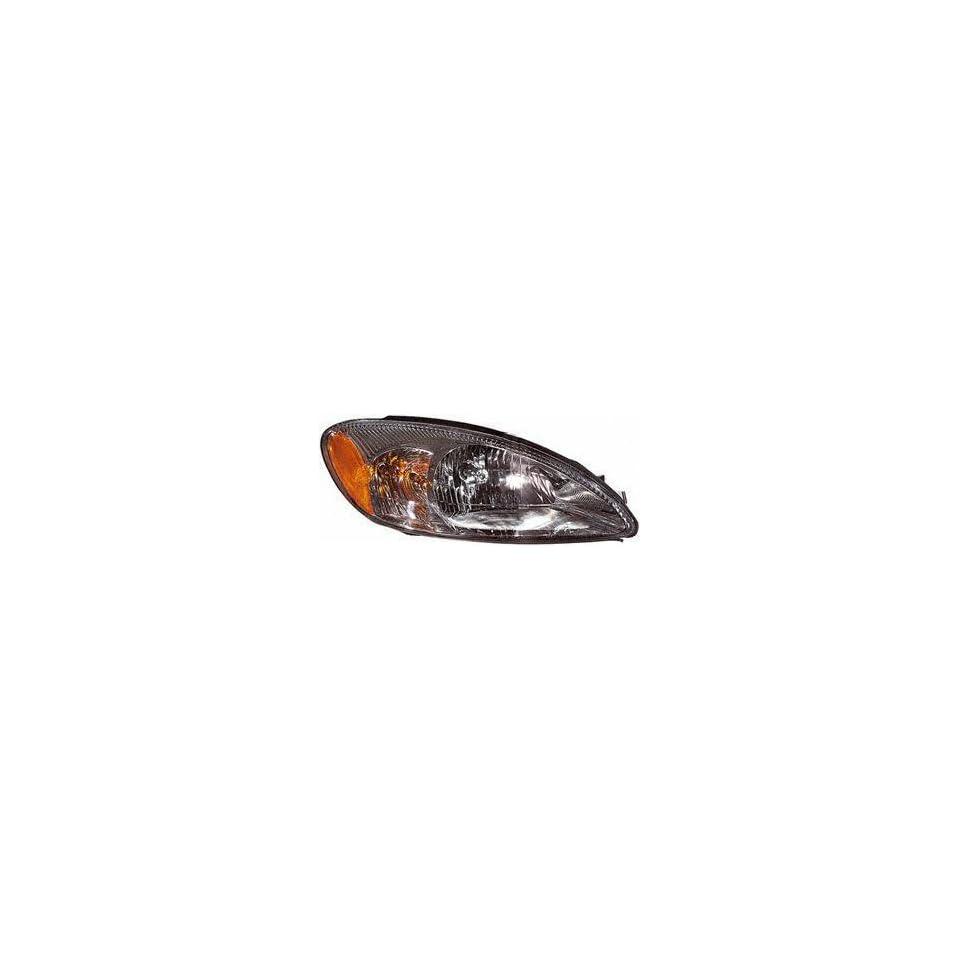 00 06 FORD TAURUS HEADLIGHT RH (PASSENGER SIDE), Lens Only (2000 00 2001 01 2002 02 2003 03 2004 04 2005 05 2006 06) 20 5821 01 1F1Z13008AA