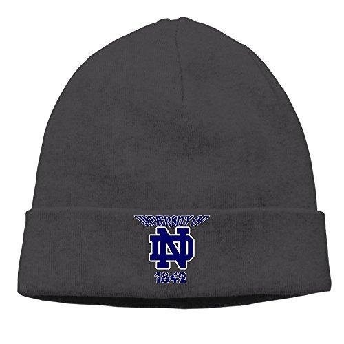 Caromn University Of Notre Dame Beanies Skull Ski Cap Hat Black (Dame Edna Costumes)