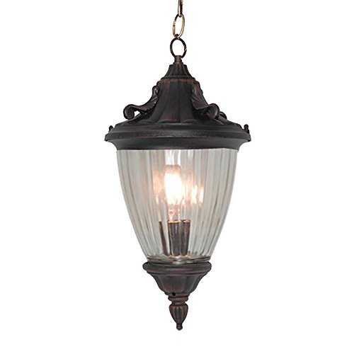 Oil Rubbed Bronze Lantern Pendant Light