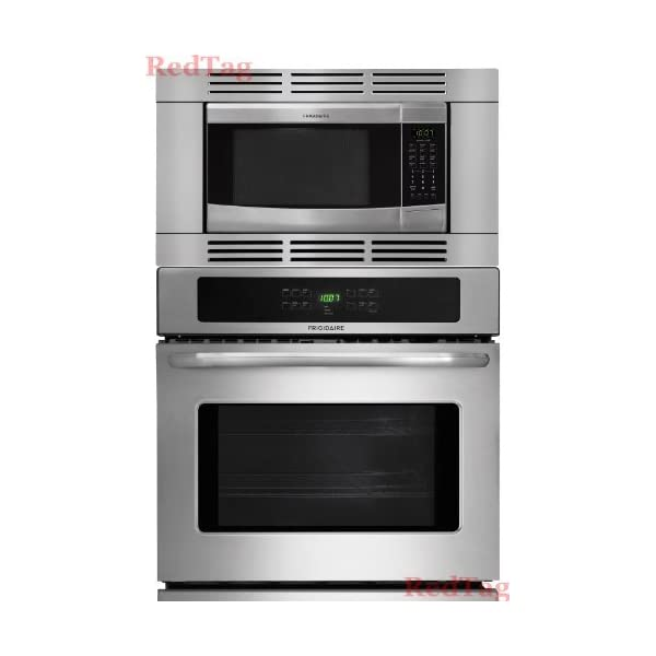 Frigidaire Stainless Steel 27″ 3Piece Wall Oven Microwave Combo FFEW2725PS FFMO1611LS FFMOTK27LS