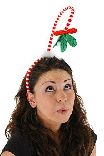 Mistle Toe Hat (elope Springy Christmas Mistletoe Costume)
