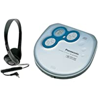 Panasonic SL-SX280 Portable CD Player (Silver and Blue)