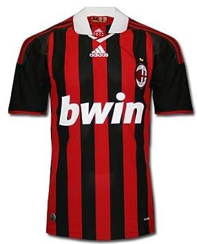 Adidas Camiseta UFF. Milan Negro Rojo a3794698fb0fd